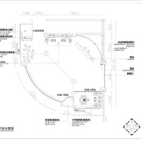 Layout drawing of exhibition hall