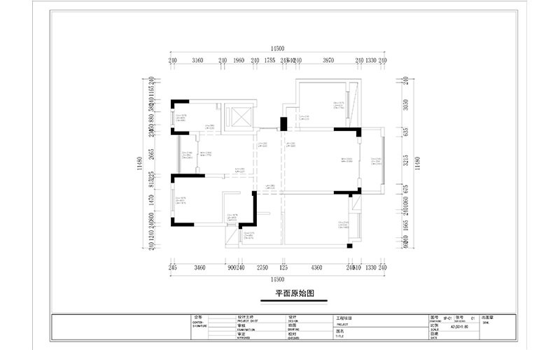 cad construction drawing template