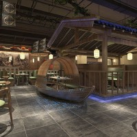Chinese Restaurant Renderings