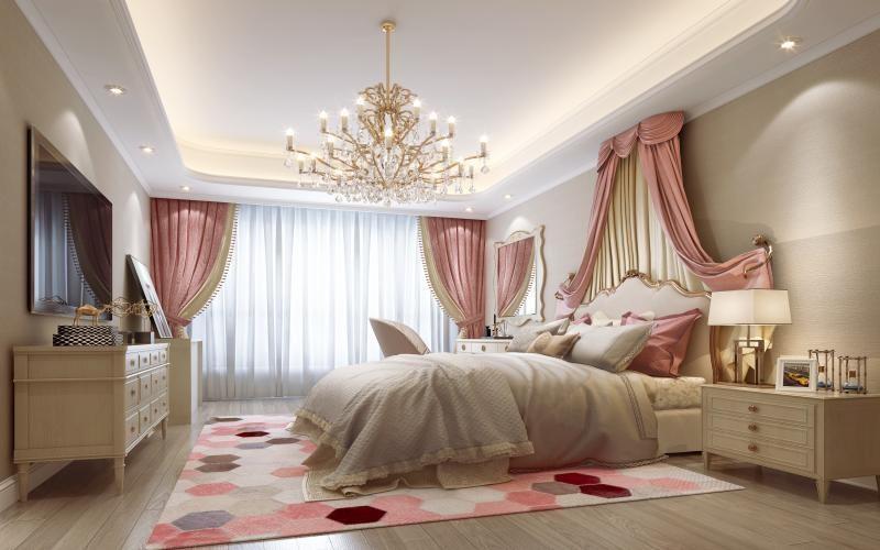 European bedroom