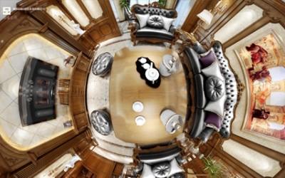 3d interior design for luxury European-style home improvement