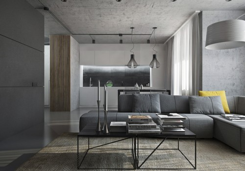 What is high-end gray for modern 3d rendering?