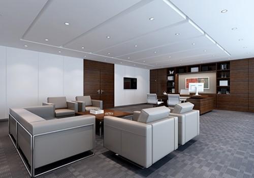 5 office interior renderings