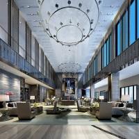 Hotel Interior design rendering