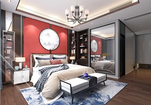 3D bedroom design: 3 computer-generated bedroom renderings